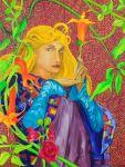 Dziewczyna, olej, płótno, 60x80, 2012